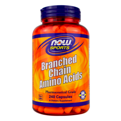 NOW Foods Branched Chain Amino Acids 240 caps