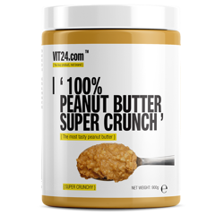VIT24.com 100% Peanut Butter Super Crunch 900 g
