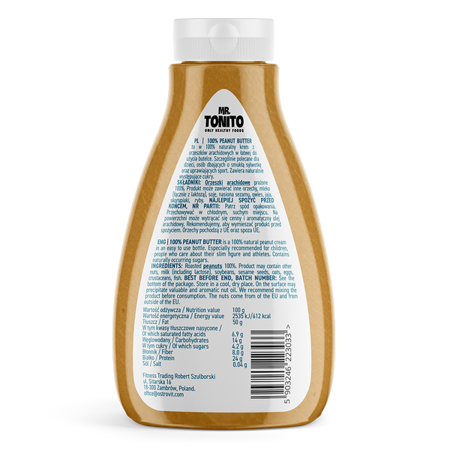 Mr. Tonito Peanut Butter Smooth 400 g
